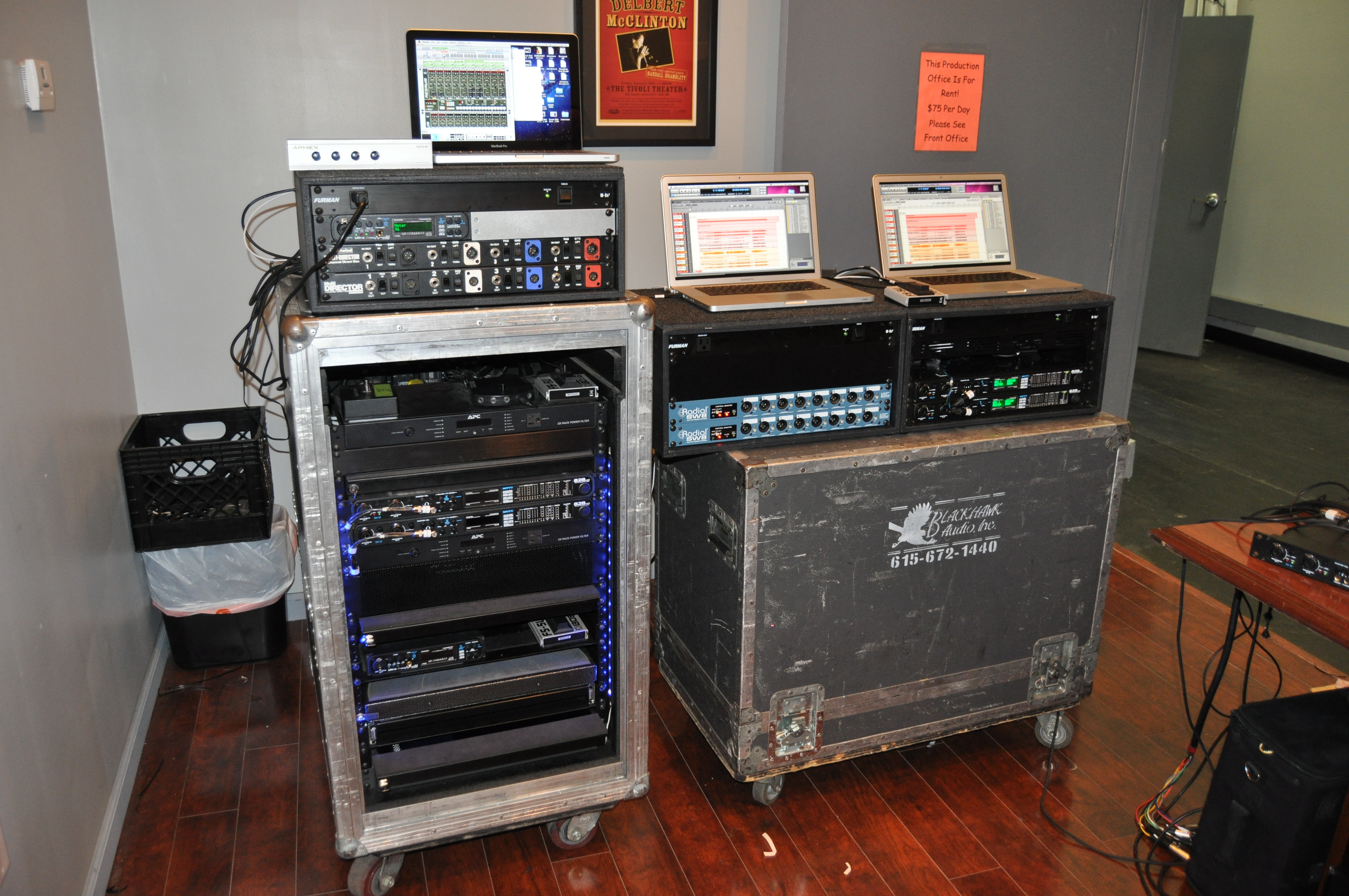 Playback Control Fly Rig Amp Touring Rig Tour Supply Inc